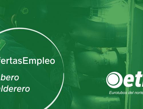 OFERTAS de EMPLEO de Tubero y Calderero -Oficiales de 1º- en Galdames, Vizcaya