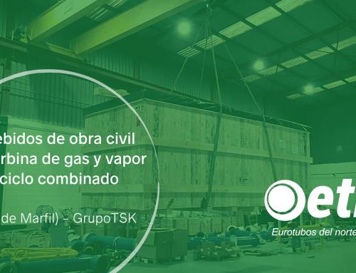 Embebidos de obra civil para turbina de gas y vapor de ciclo combinado (Costa de Marfil) – GrupoTSK
